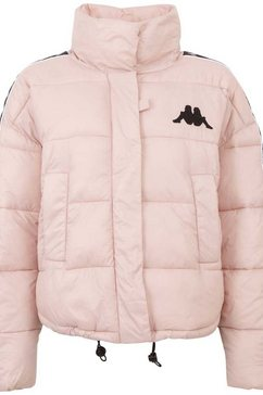 kappa gewatteerde jas authentic fenja met veel praktische details roze