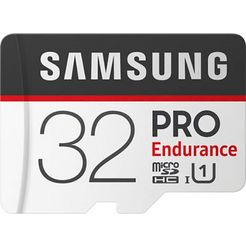 samsung geheugenkaart »pro endurance microsd 32 gb« zwart