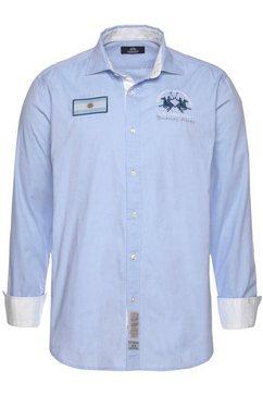 la martina overhemd met lange mouwen »okledi« blauw