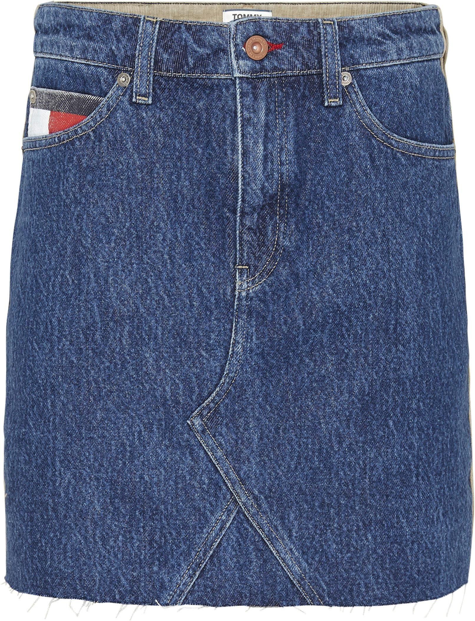 Tommy Jeans Jeansrok Short Denim Skirt Nwcr Online Verkrijgbaar - Geweldige Prijs