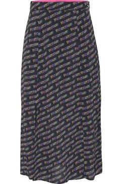 tommy jeans geweven rok »tjw outline print skirt« zwart