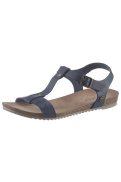 mustang shoes sandalen blauw