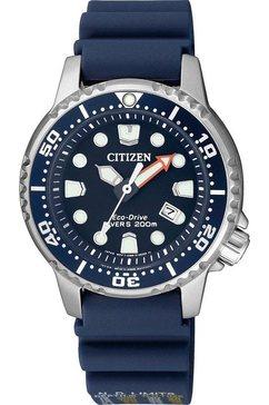 citizen duikhorloge »promaster marine eco-drive diver 200m, ep6051-14l« blauw