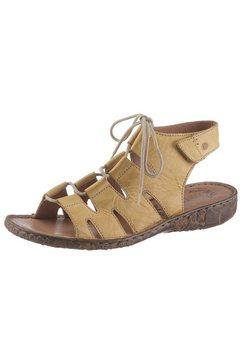 josef seibel romeinse sandalen »rosalie« geel