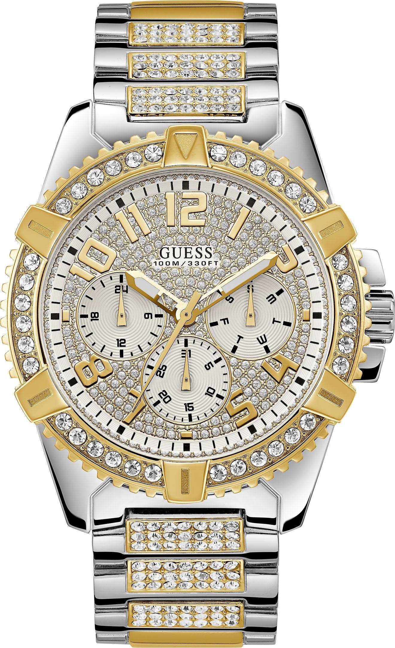 Guess multifunctioneel horloge FRONTIER, W0799G4 bestellen: 30 dagen bedenktijd