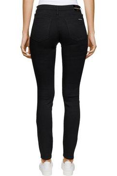 calvin klein skinny fit jeans »ckj 011 mid rise skinny« zwart