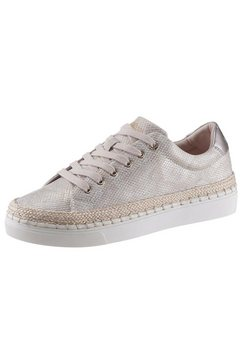 s.oliver plateausneakers beige