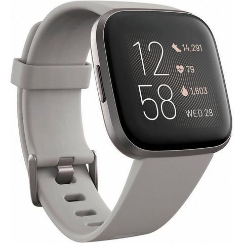 FitBit Versa 2 Smartwatch Uni Steen-grijs