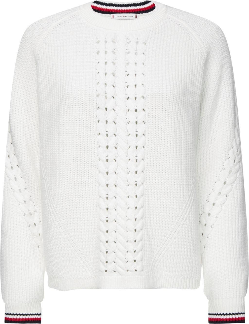 Op zoek naar een Tommy Hilfiger trui met ronde hals »VALARY C-NK SWTR«? Koop online bij OTTO
