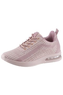 s.oliver plateausneakers roze