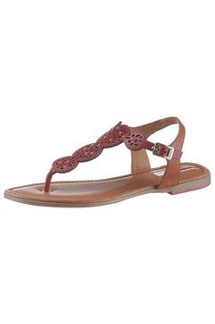 s.oliver red label sandalen rood