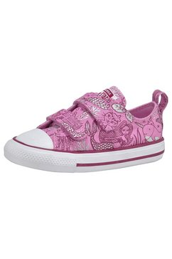 converse sneakers »kinder chuck taylor all star 2v-ox mermaid« roze