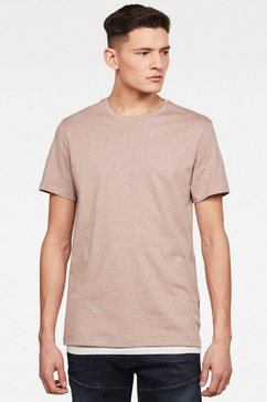 g-star raw t-shirt »base-s t-shirt« bruin
