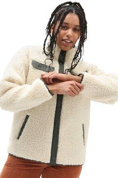 vans tricot-fleecejack dreaming sherpa jacket bruin