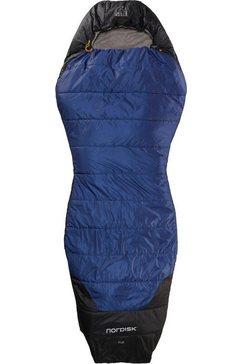nordisk mummieslaapzak puk +10 curve blauw