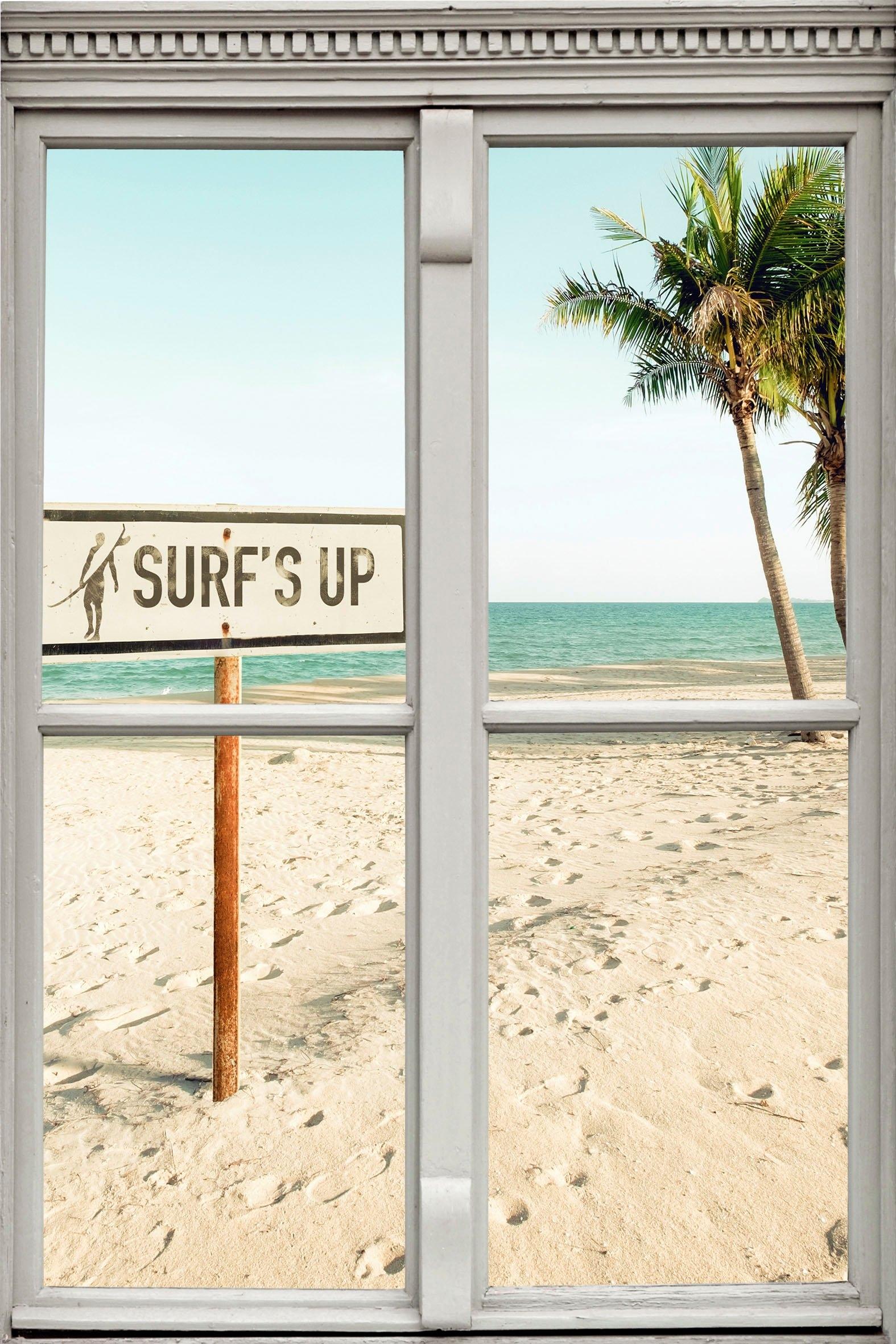 queence Wandfolie »Surf's up« online kopen op otto.nl