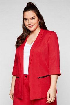 sheego jasje in sluitingloos model, met 3-4-mouwen rood
