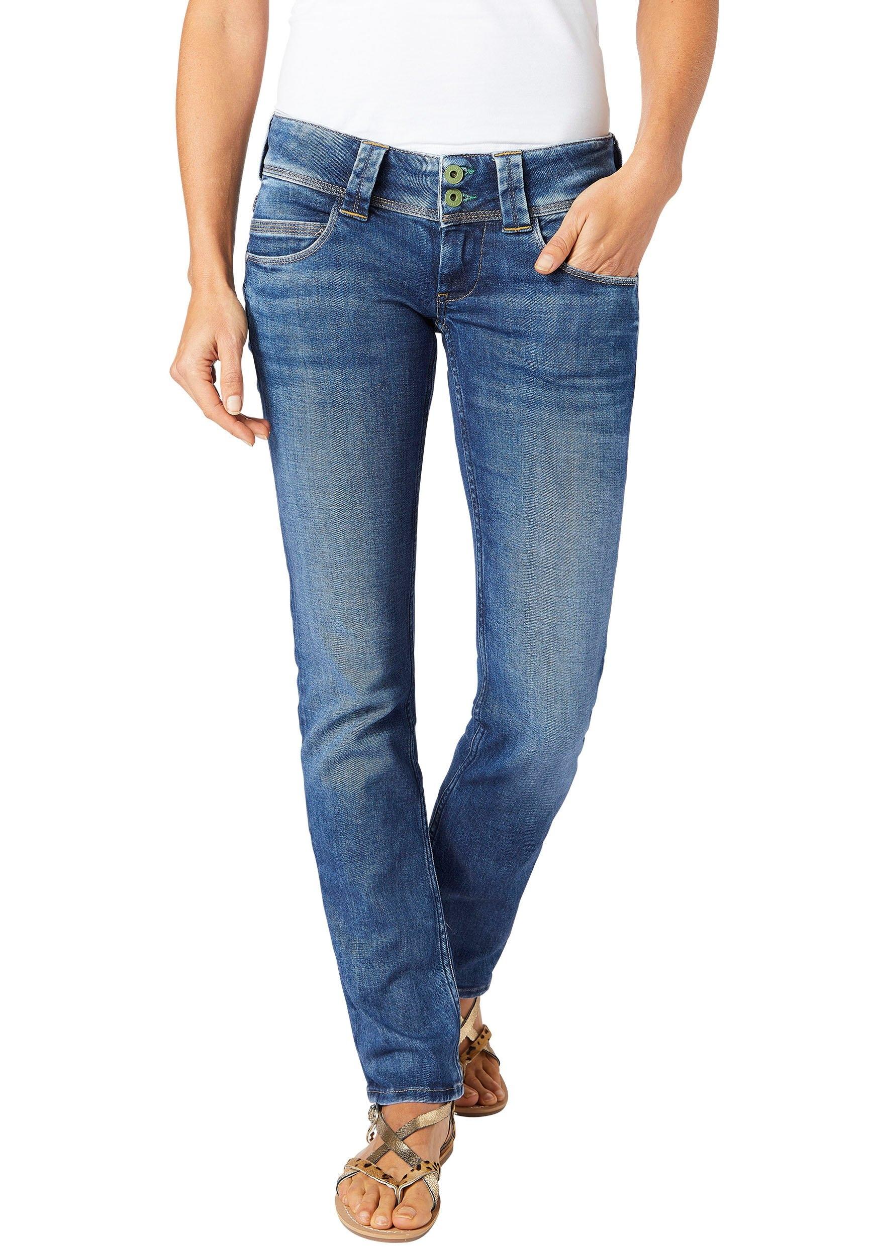 Pepe Jeans straight-jeans »VENUS« voordelig en veilig online kopen