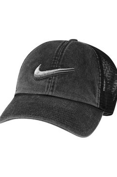 nike sportswear baseballcap trucker cap zwart