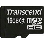transcend »microsdxc-sdhc class 10« geheugenkaart zwart