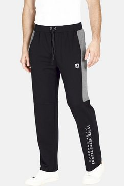 jan vanderstorm joggingbroek vernik extra brede elastische band zwart