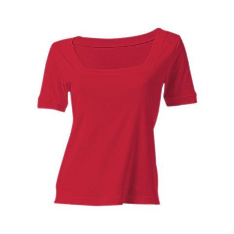 Shirt met carréhals