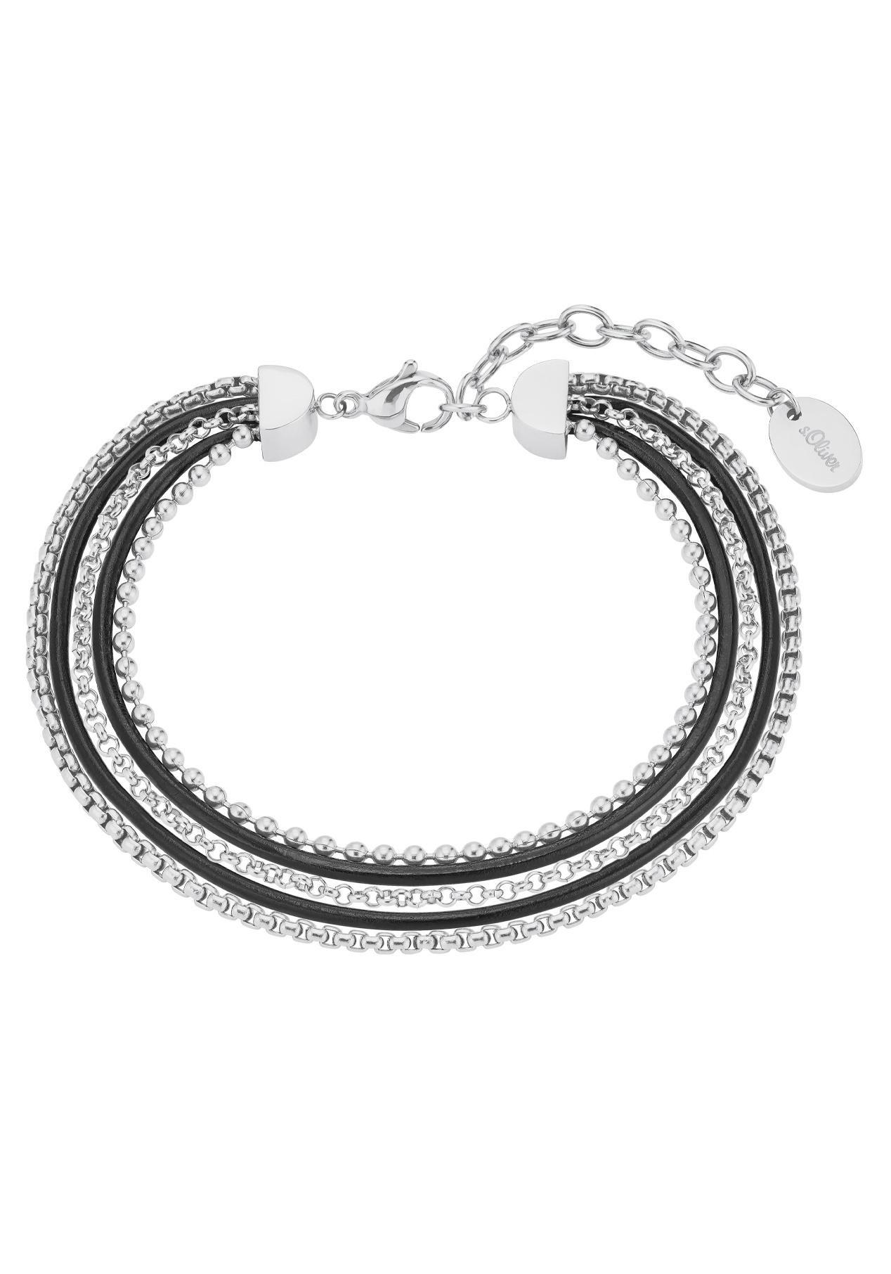 s.Oliver RED LABEL s.Oliver armband »Hoofdcollectie - Dog Tag, 2026188« nu online bestellen