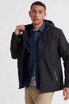 superdry windbreaker »surplus goods hiker jacket« zwart