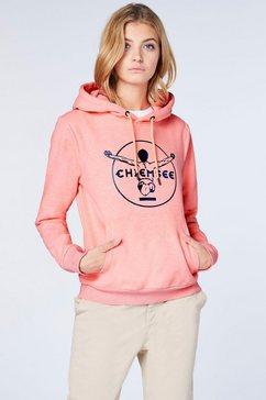 chiemsee hoodie roze