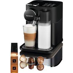 nespresso koffiecapsulemachine distinta moments, gran lattissima en 650.b – sunset black zwart
