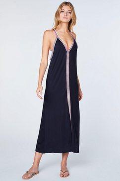 chiemsee maxi-jurk zwart