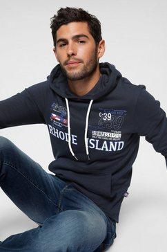 rhode island capuchonsweatshirt blauw