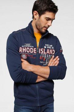 rhode island sweatvest blauw