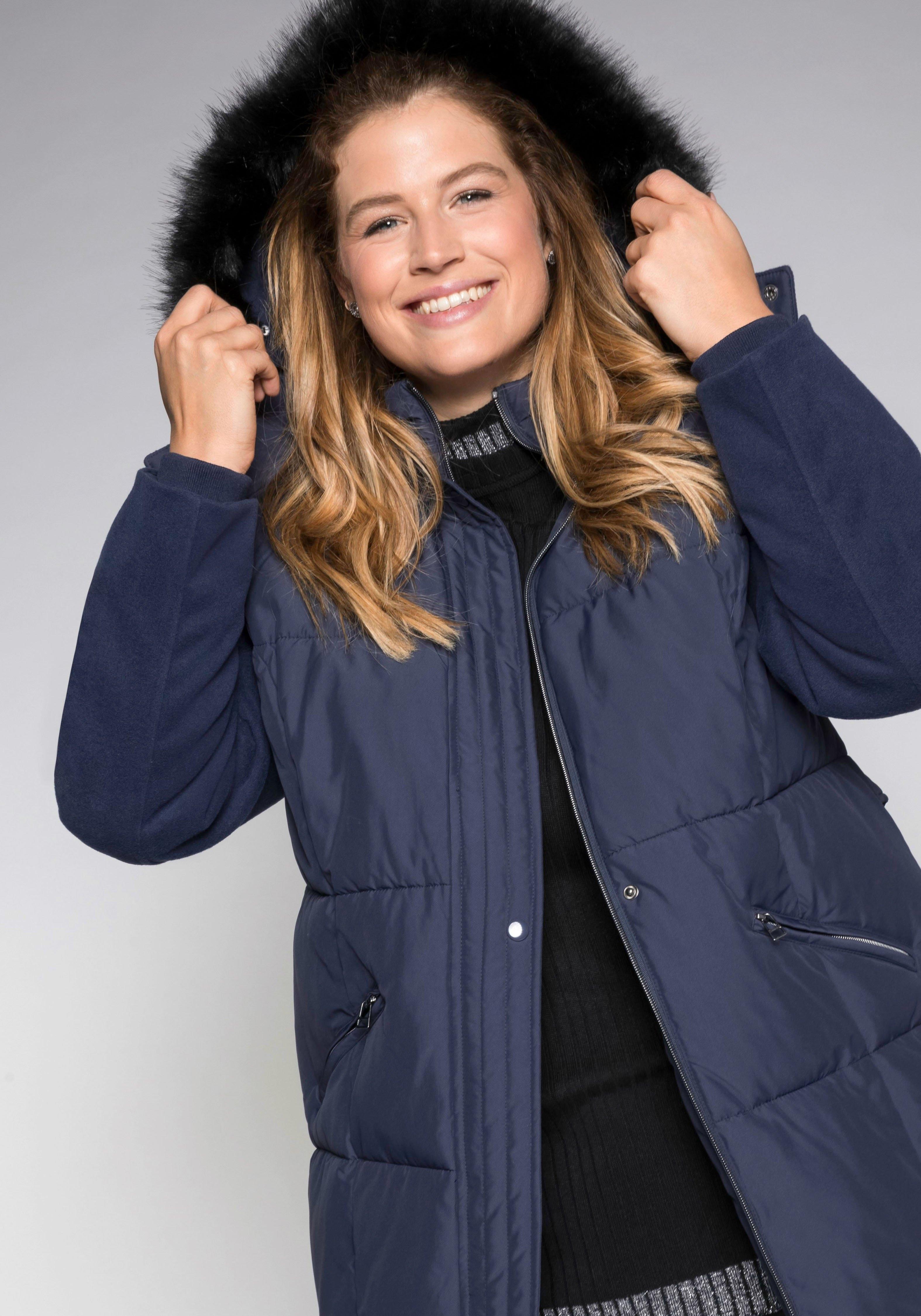 Sheego Casual Sheego CASUAL lichte doorgestikte jas nu online bestellen