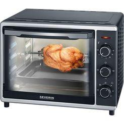 severin »to 2056« mini-oven zwart