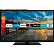 telefunken os-32h400 led-tv (80 cm - 32 inch), hd-ready, smart-tv zwart
