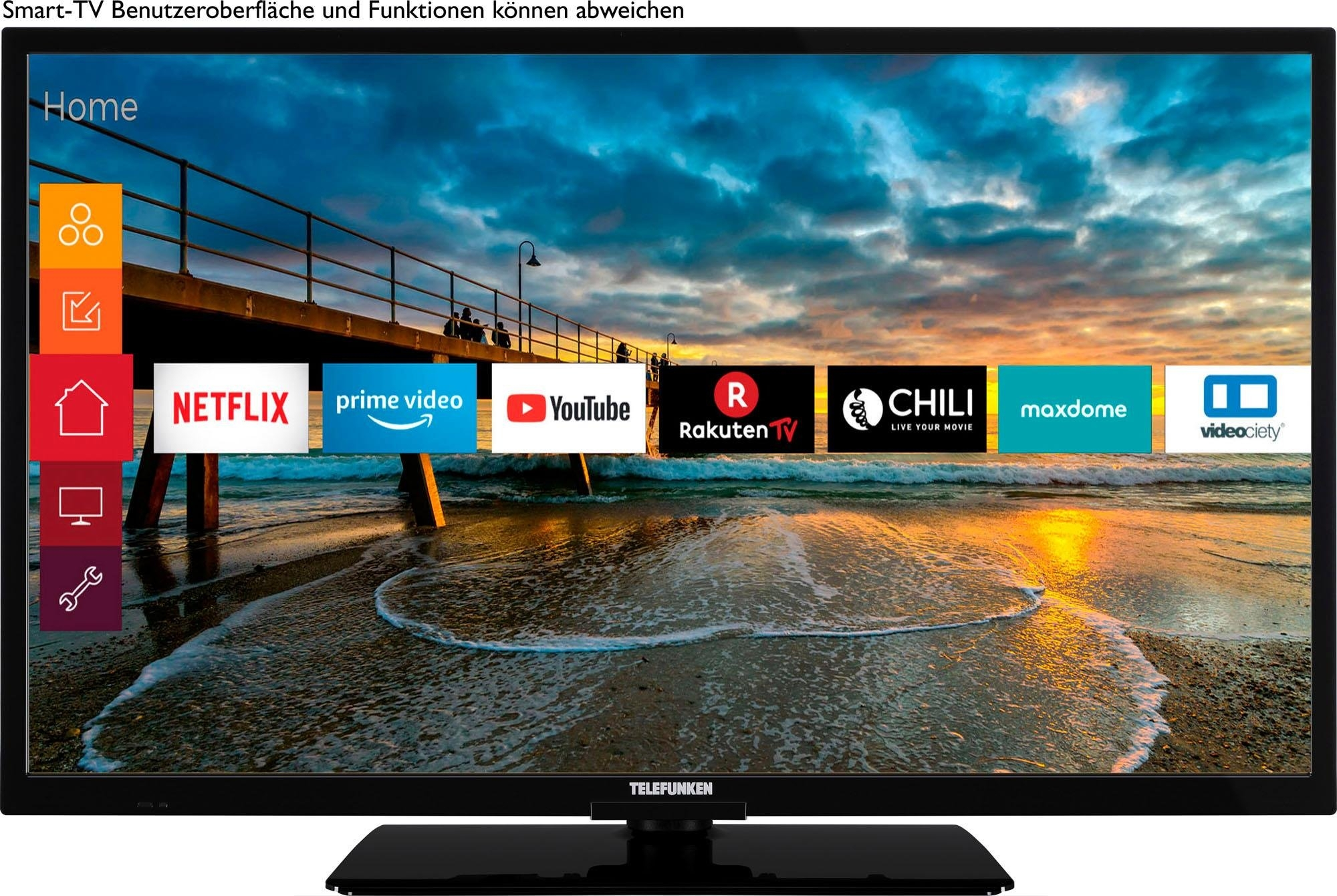 Telefunken OS-32H400 led-tv (80 cm / 32 inch), HD-ready, smart-tv - gratis ruilen op otto.nl