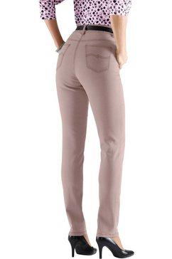 jeans in modern smal model roze