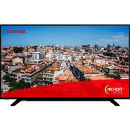 toshiba 58u2963dg led-tv (146 cm - 58 inch), 4k ultra hd, smart-tv zwart