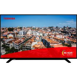 toshiba 49u2963dg led-tv (123 cm - 49 inch), 4k ultra hd, smart-tv zwart