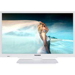 telefunken l22f502m4 led-tv (55 cm - 22 inch), full hd wit