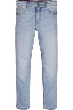 tommy hilfiger stretch jeans »rey relaxed tapere« blauw