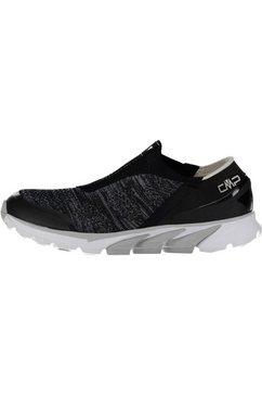 cmp slip-on sneakers »knit jabbah wmn« zwart