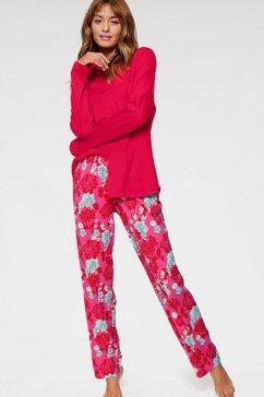 seidensticker pyjama rood