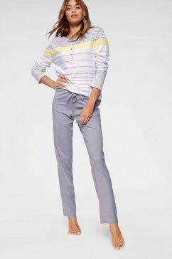 schiesser pyjama (2-dlg.) grijs