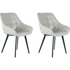 kayoom stoel demi 325 (2 stuks) grijs