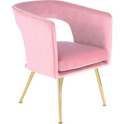 kayoom stoel jolene 125 (per stuk) roze