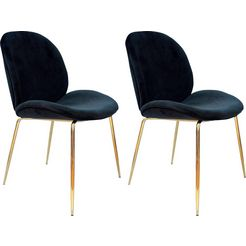 kayoom stoel charlize 110 (2 stuks) zwart