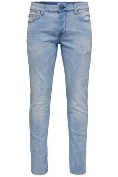 only  sons slim fit jeans »loom slim« blauw
