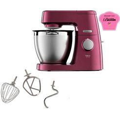 kenwood keukenmachine chef xl sense special edition kql 6300v, 1400 watt, inhoud kom 6,7 liter paars